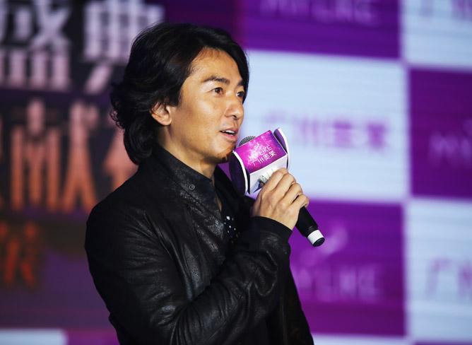 2015年11月郑伊健亲临美莱集团周年庆 添力医美巨