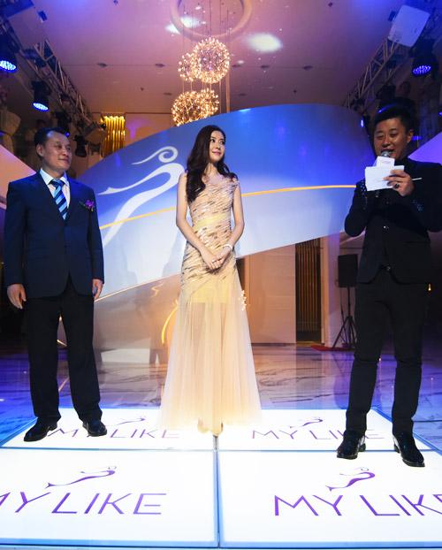 熊黛林出席上海美莱医院开业活动